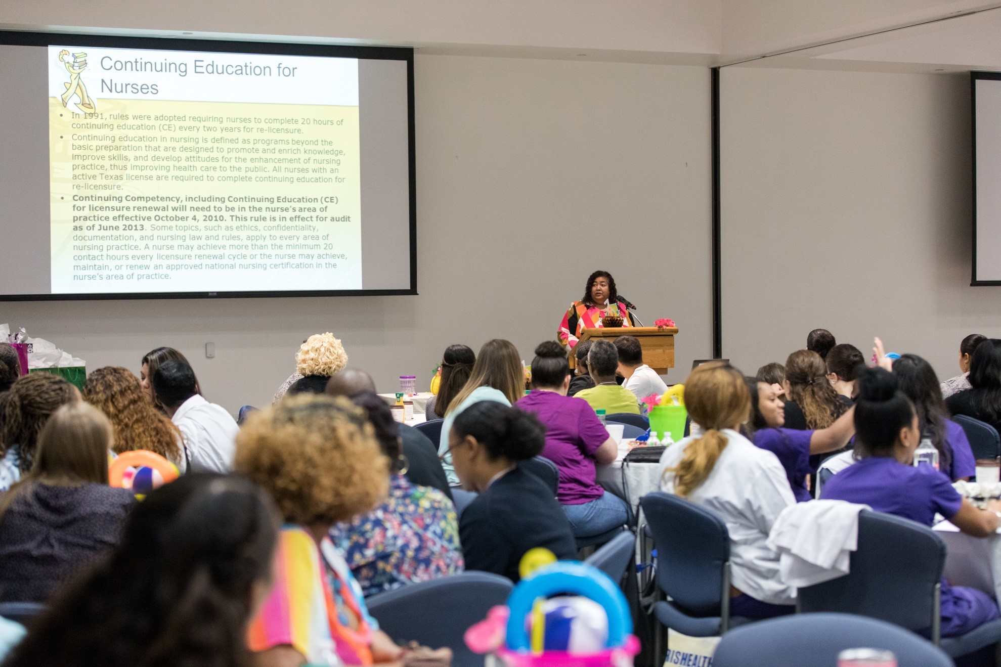HCHD Foundation supports Harris Health System LVN Conference