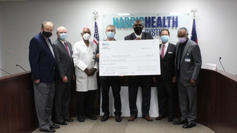 1st Grant of HCHD Foundation's Permanent Endowment Fund