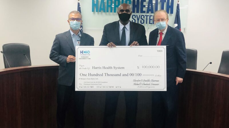 2nd Grant of HCHD Foundation's Permanent Endowment Fund